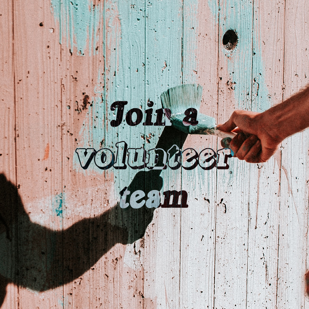 Join a volunteer team