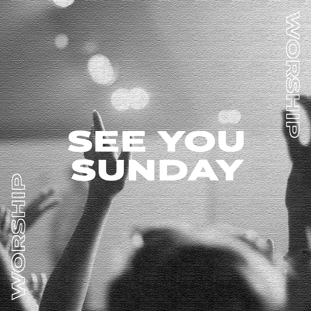 See you Sunday