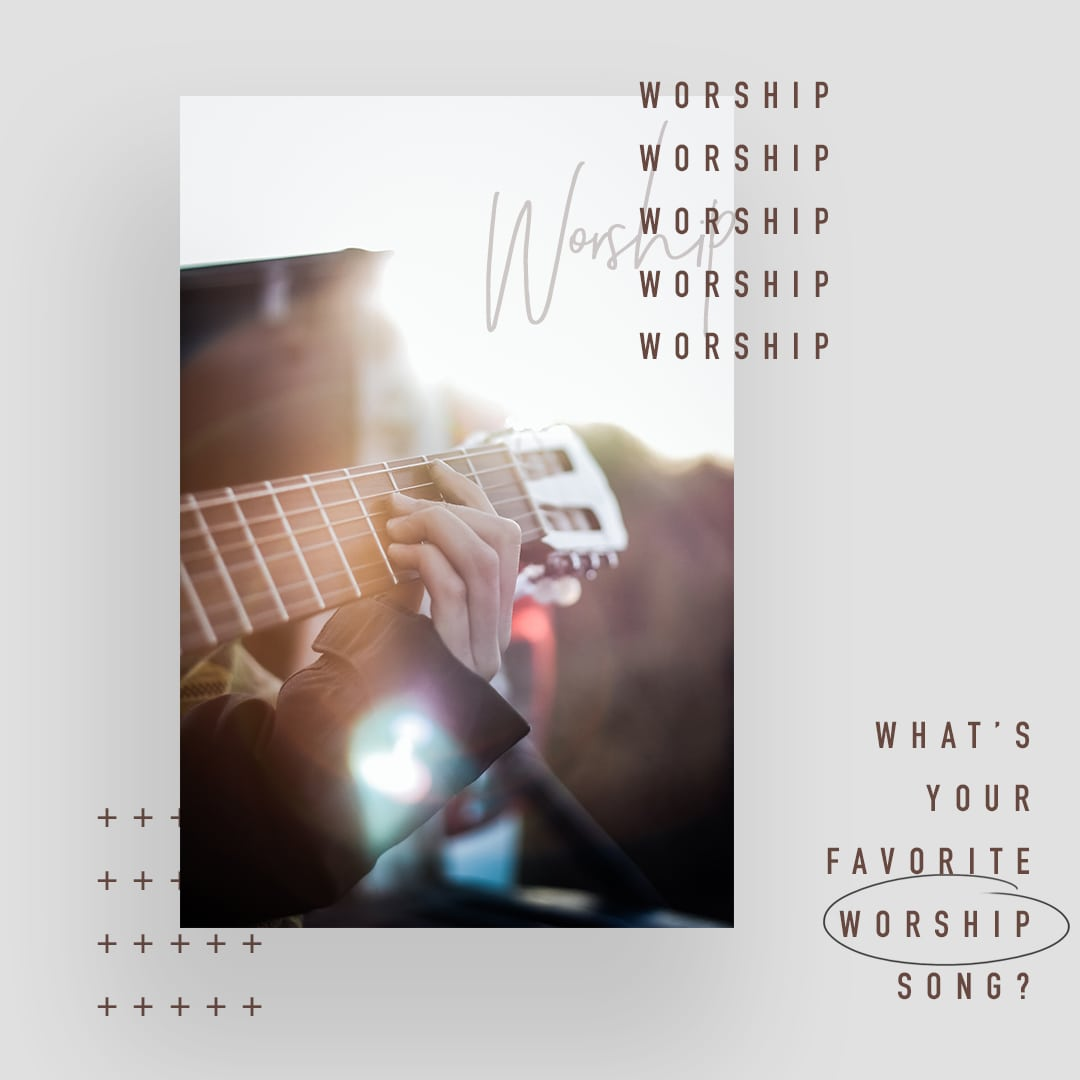 What's your favorite worship song?