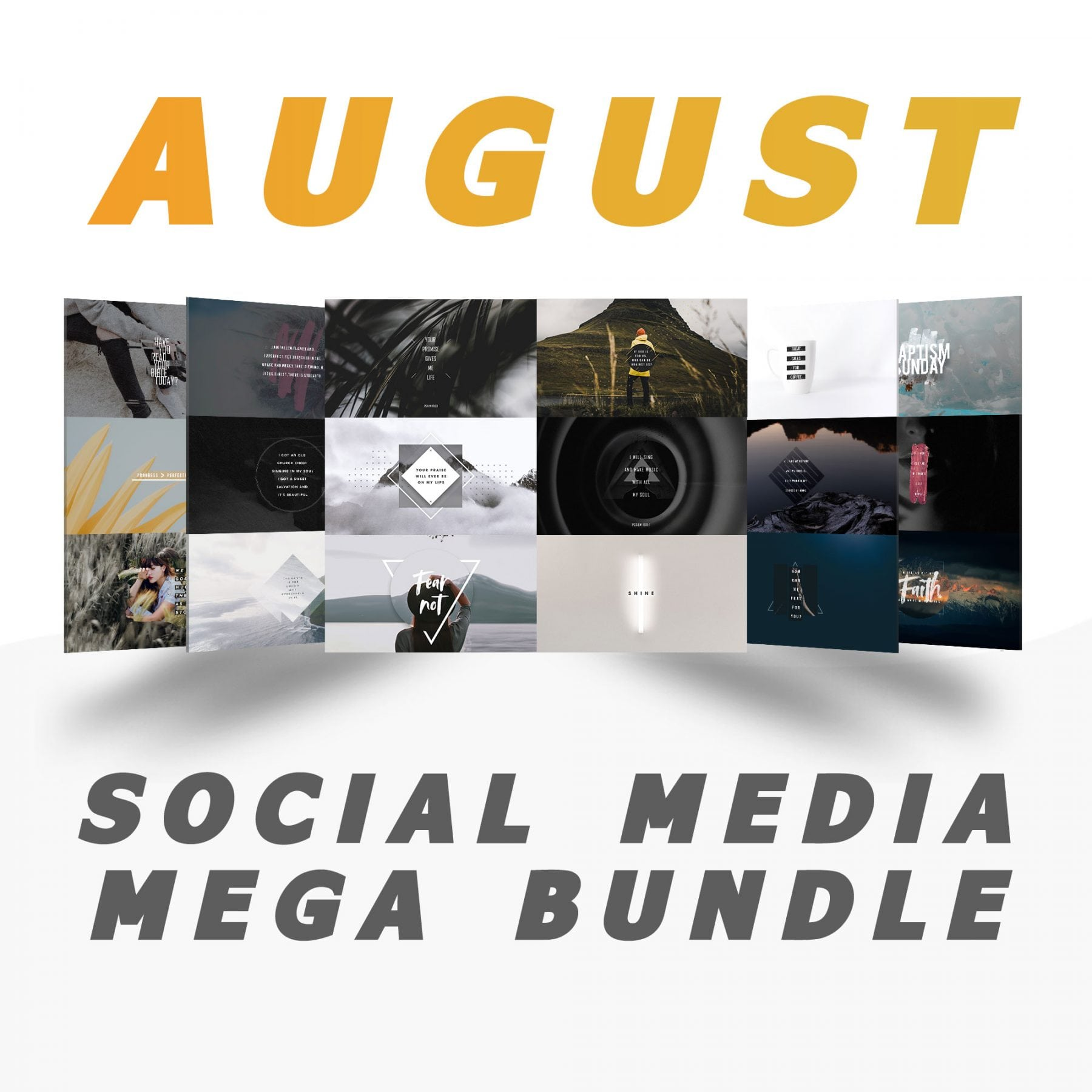 August Mega Bundle
