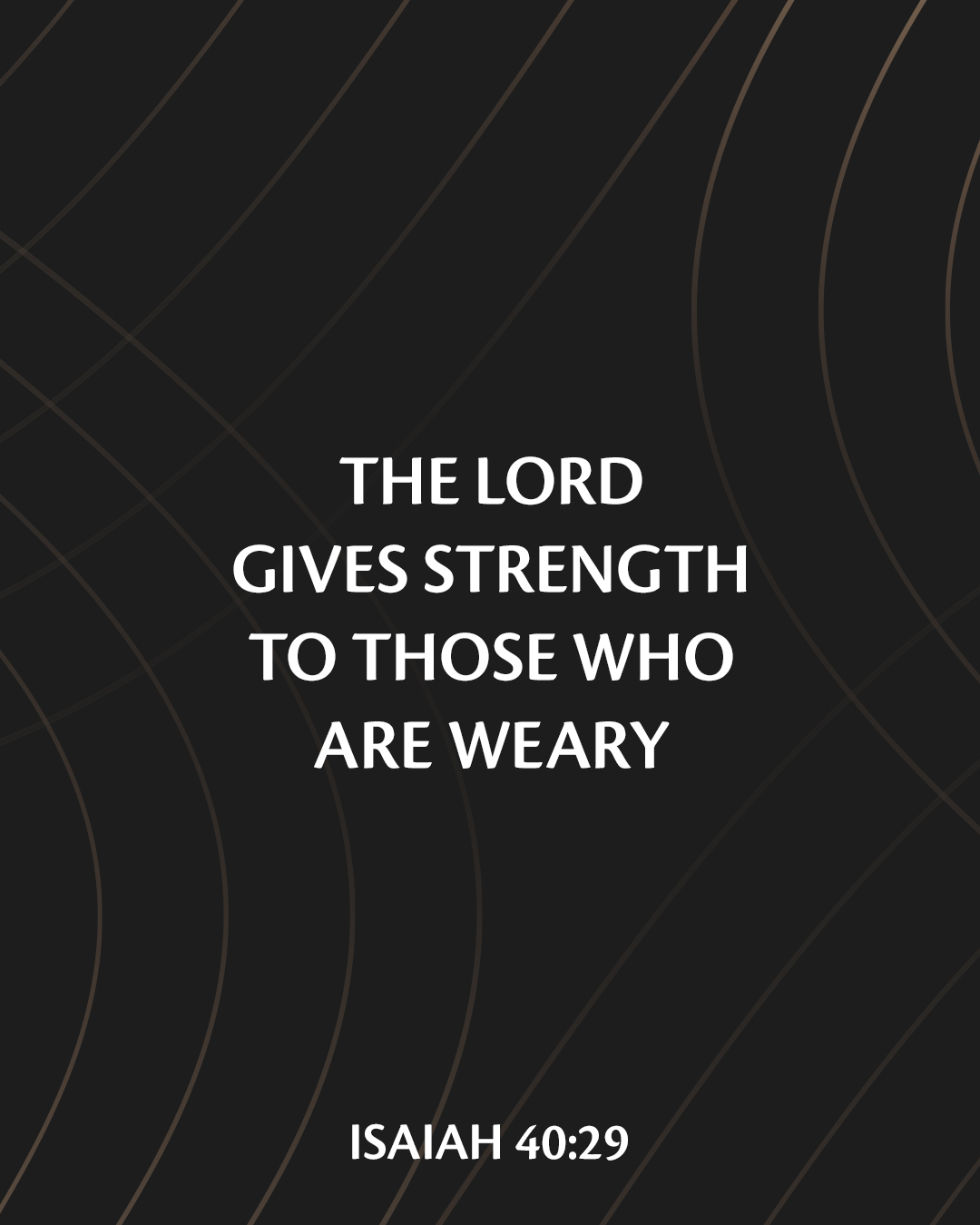 He Gives Strength